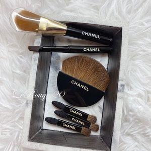 Chanel mini travel brush 6pcs set